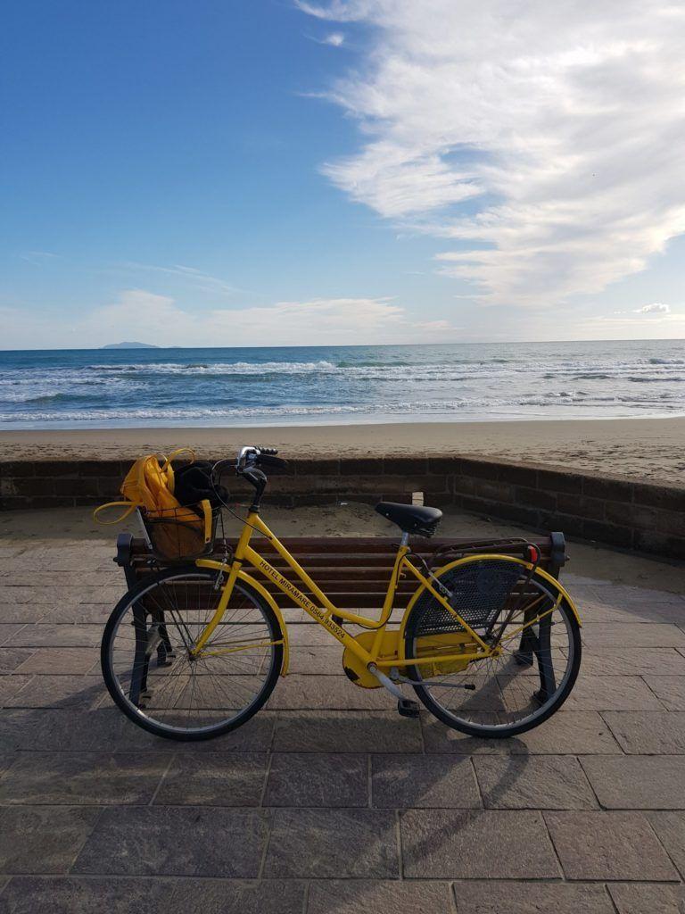 Castiglione della Pescaia Ausflug mit dem Fahrrad