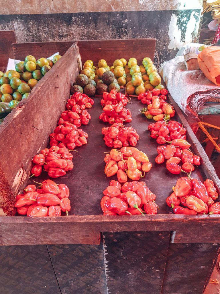 Stone Town Sansibar Gewürzmarkt