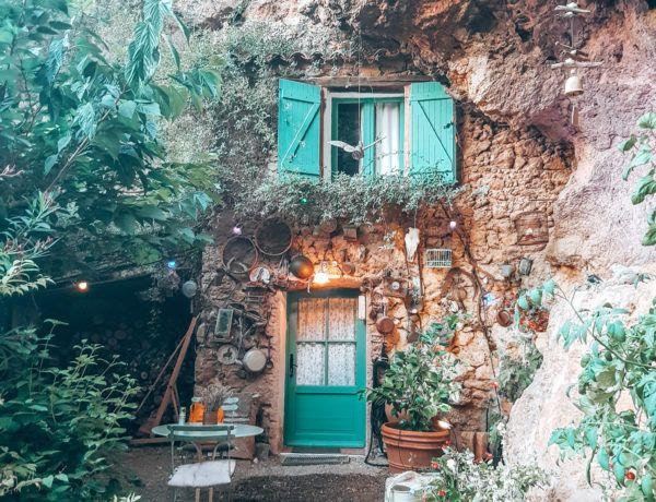 außergewöhnliche Unterkunft in Frankreich: Wohnen im Höhlenhaus