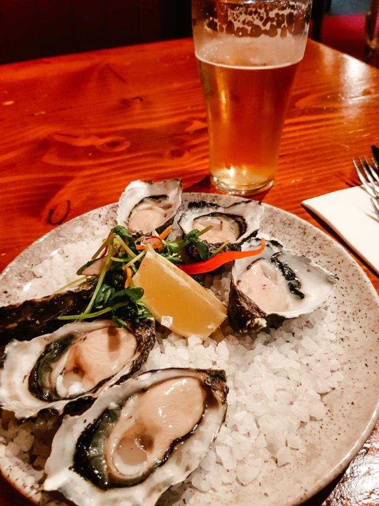 Dinner in Hobart