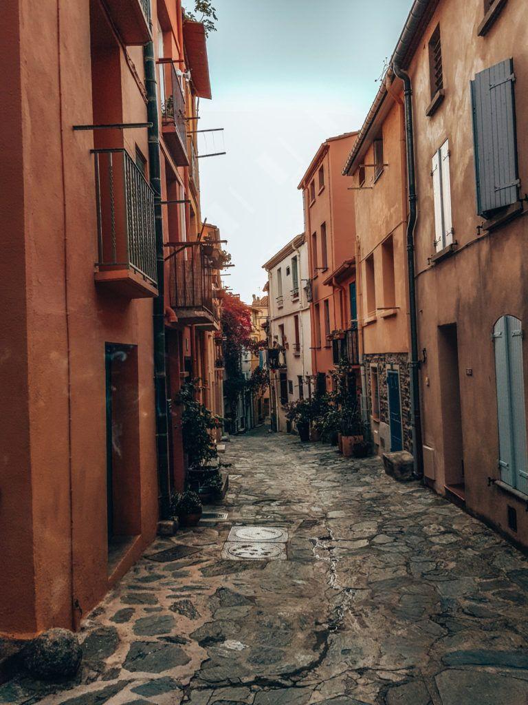 die Straßen von Collioure